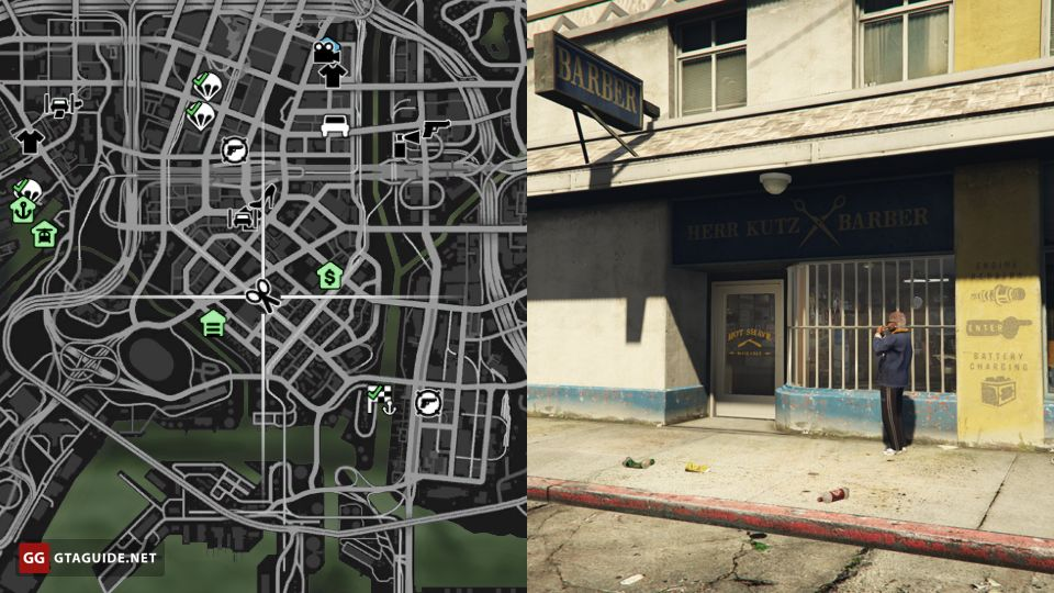 Barber Shops in GTA 5 — GTA Guide