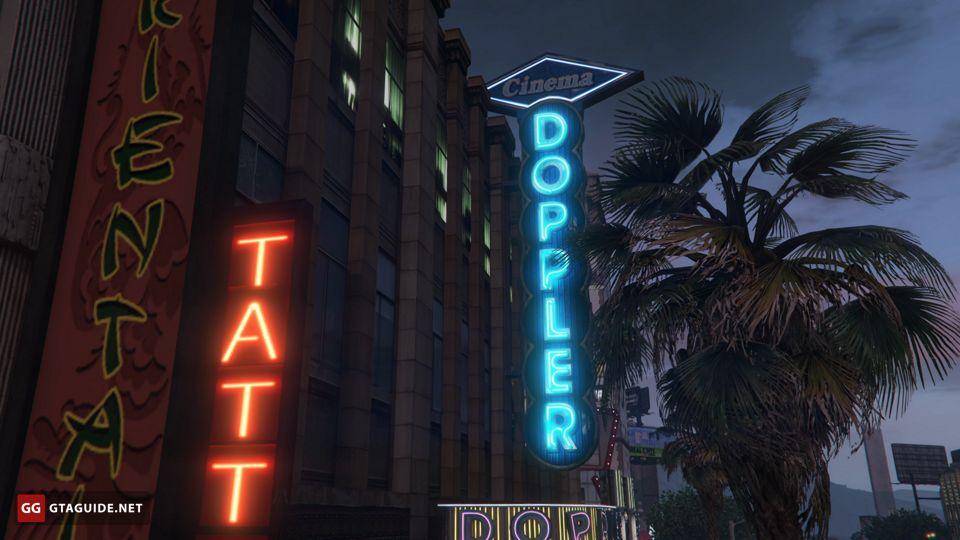 Cinemas in GTA 5 — GTA Guide