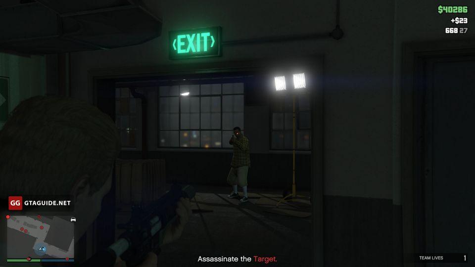 Mission 1 gta loud or stealth best option