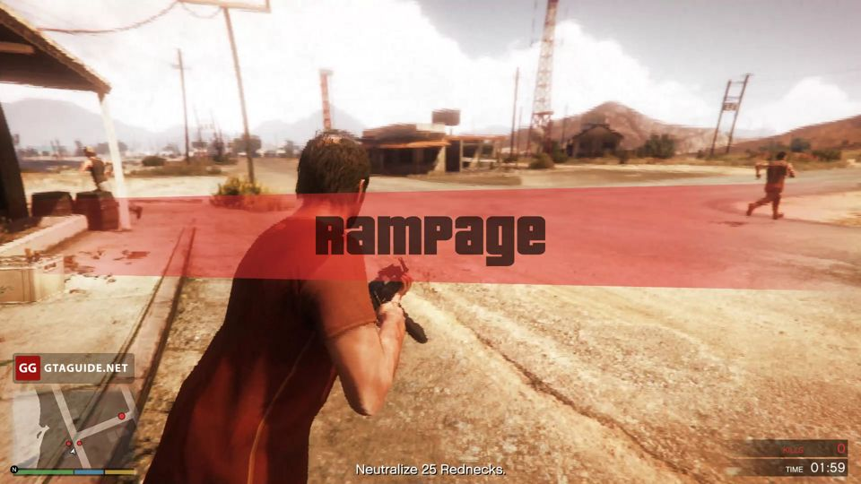 Rampages in GTA 5 — GTA Guide