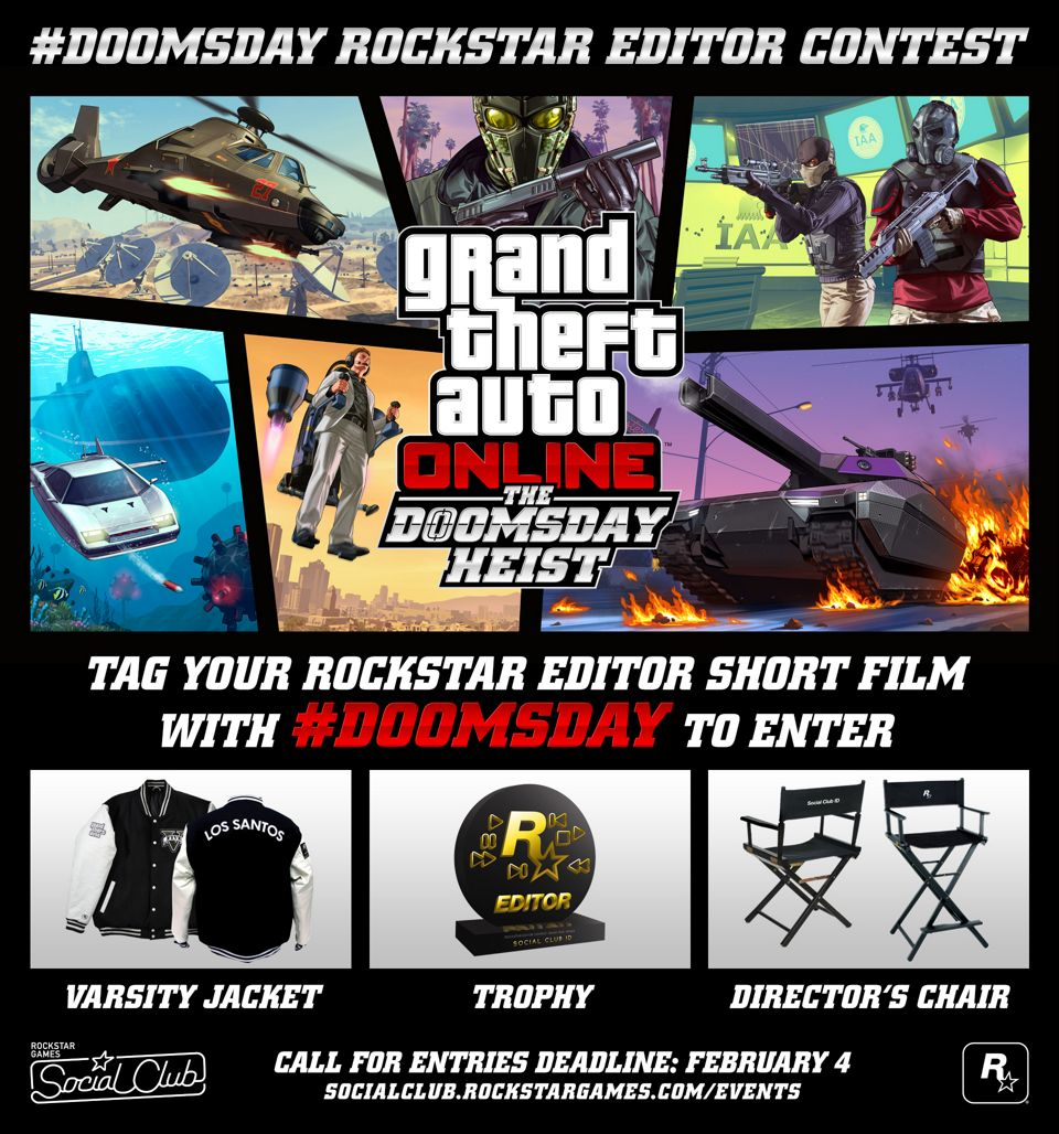 grand theft auto v rockstar editor trophy guide