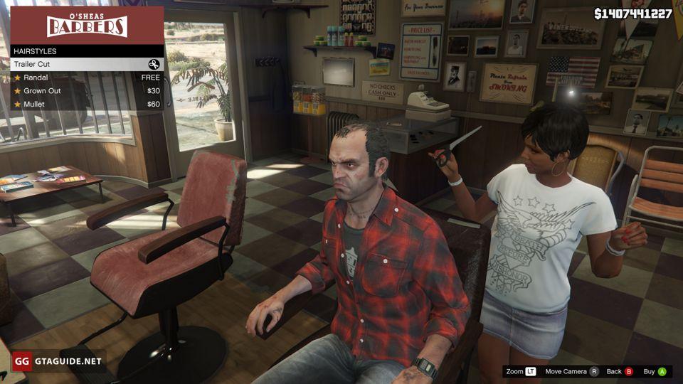 Barber Shops in GTA 5 — GTA Guide